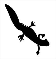 Triton silhouette vector
