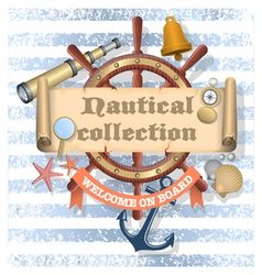 Nautical collection 2 vector