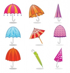 Umbrella clip art vector