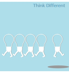 Different thinking vector