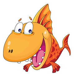 Fish smiles vector
