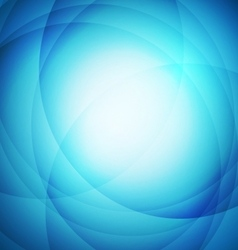 Abstract blue background with circle vector image