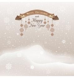 Christmas christmas snowfall vector