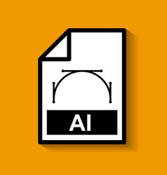 File document format digital icon vector