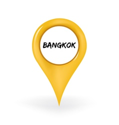 Location bangkok vector