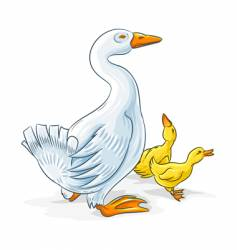 Mother goose vector