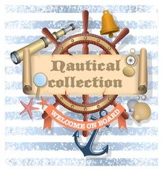 Nautical collection 2 vector