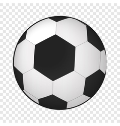 Soccer ball isometric 3d icon vector image vector image