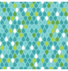 Multicolor raindrops seamless pattern vector