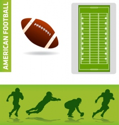 Football design elements vector