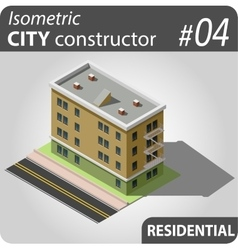 Isometric city constructor - 04 vector