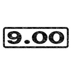 900 watermark stamp vector image