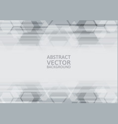 Geometric gray abstract background vector