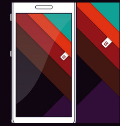 material design angle stripes vector image