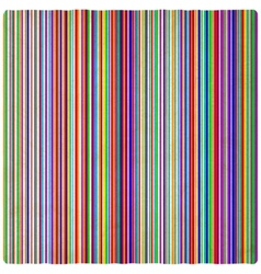 Rainbow striped old background vector