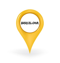 Location barcelona vector