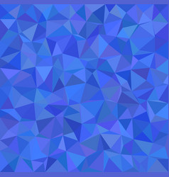 Abstract irregular triangle tiled mosaic vector