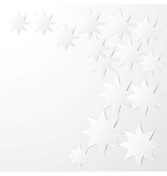 octagonal stars vector image vector image