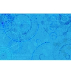 Technology background Technological elements vector image vector image