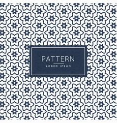 Abstract shape pattern background vector