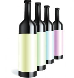 bottle3 vector image vector image