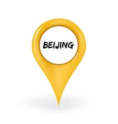 Location beijing vector