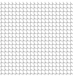 Seamless pattern diagonal fish scales vector