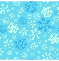 Christmas blue snowy abstract background vector