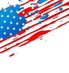 American flag design vector