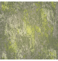 Abstract seamless texture of dark green rusted vector