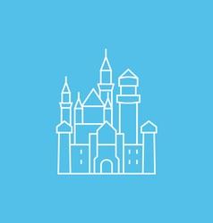 Neuschwanstein Castle vector image vector image