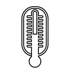 thermometer isolated icon design vector image