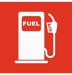 The gas station icon gasoline and diesel fuel vector