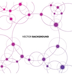 Network Backgroud vector image