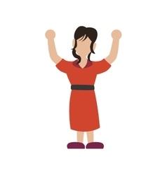 Woman icon avatar female design graphic vector