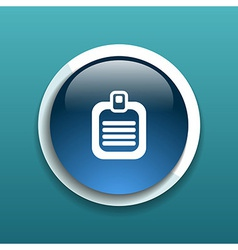 Check list icon flat design isolated document vector