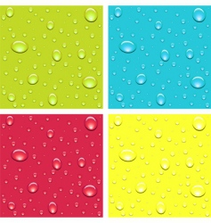 drops of dew vector image