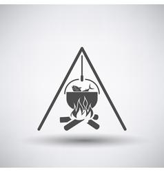 Fishing Pot Icon vector image vector image