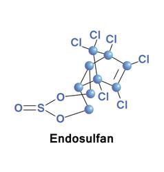 Endosulfan organochlorine insecticide vector