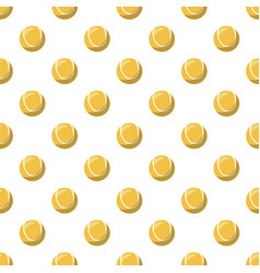 Tennis ball pattern vector