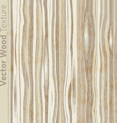 Wood grain textured background pattern vector image vector image