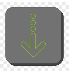 Send down rounded square button vector