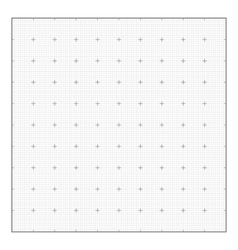 Graph grid paper background vector