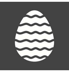 Easter egg vi vector