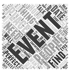 How to create events that people talk about word vector