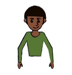 Man male avatar people cartoon image vector