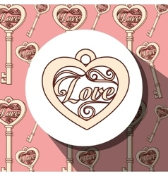 Retro vintage background or wallpaper vector image