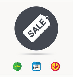 Sale coupon icon special offer tag sign vector