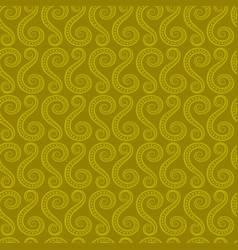 swirl abstract shape pattern vector image