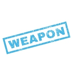 Weapon rubber stamp vector